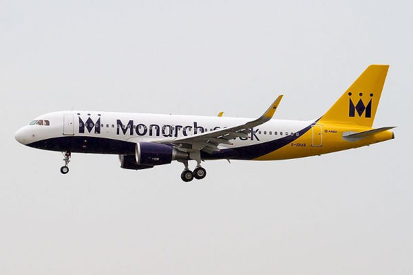 2017 10 02 Airbus A320 214, Monarch Airlines
