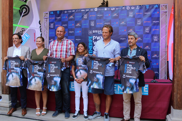 PWA World Cup Tenerife 2018 in El Médano